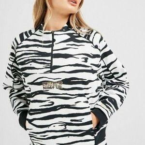 Nike Tiger Animal Print Korea Soccer Team Jacket